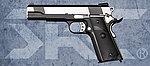 點一下即可放大預覽 -- 雙彈匣 雙色版~SRC SR-1911 全金屬瓦斯退膛瓦斯槍(GB-0735),手槍