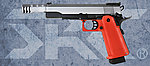 點一下即可放大預覽 -- 雙彈匣 SRC SR HI-CAPA 5.1 紅色特仕版 瓦斯槍(GB-0744),手槍