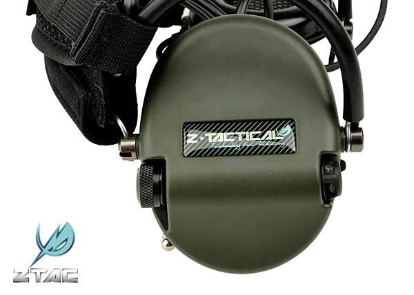 Z-TACtical TCI LIBERATOR II 後掛式軍規麥克風抗噪耳機(Z039)