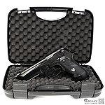 點一下即可放大預覽 -- [促銷回饋~全面啟動] HFC G192  M9A1 (特仕版)全金屬瓦斯槍,手槍(豪華槍箱版)