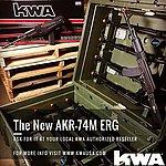 點一下即可放大預覽 -- KWA/KSC AKR 74M AK74M ERG 電動槍,電槍