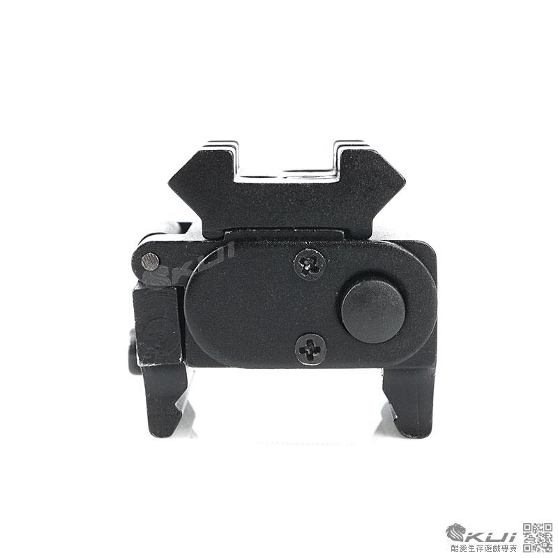 限量優惠!魚骨版 手槍專用方型迷你全金屬紅雷射,外紅點,瞄準器