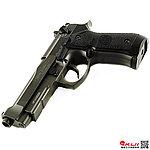 [促銷回饋~全面啟動] HFC 貝瑞塔 M9A1 全金屬瓦斯手槍 (豪華槍箱版~單連發)