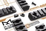 點一下即可放大預覽 -- 正品 PTS Enhanced Polymer Rail Section 5段 M-LOK 戰術魚骨,側邊軌道