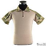 點一下即可放大預覽 -- 特價!L號 多地形迷彩 短袖 青蛙裝上衣 (萊卡布料),迷彩T恤,戰鬥服,短袖上衣,排汗,涼爽,速乾T恤