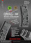 點一下即可放大預覽 -- 沙色 VFC M4 VR16 QRS 靜音彈匣,無聲彈夾(120連)