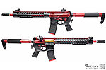 點一下即可放大預覽 -- 極致紅~APS Red Dragon 紅龍 EBB 全金屬電動步槍