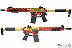 點一下即可放大預覽 -- 閃耀金~APS Gold Dragon 金龍 EBB 全金屬電動步槍