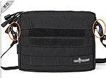 點一下即可放大預覽 -- NG品 黑色~單肩多功能勤務包,EDC 随身腰包,雜物包,收納袋(可放手槍)