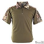 L號 多地迷彩 青蛙裝上衣,迷彩T恤,戰鬥服,短袖上衣(海豹最愛),排汗,涼爽,速乾T恤