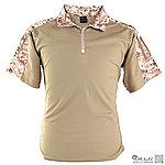 L號 數位沙漠 青蛙裝上衣,迷彩T恤,戰鬥服,短袖上衣(海豹最愛),排汗,涼爽,速乾T恤
