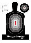 50張 A4 集彈靶專用靶紙C (進化版 A4兩用集彈靶 可用)