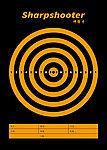 點一下即可放大預覽 -- 50張 A4 集彈靶專用靶紙E (進化版 A4兩用集彈靶 可用)