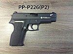 點一下即可放大預覽 -- WE P226(P2) 海神性能版客製槍(射程直逼60米),瓦斯手槍,Poseidon