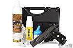 特價!限量優惠!【特攻組合版】WE HI-CAPA 5.1 全金屬瓦斯槍 附贈 硬殼槍箱+矽油+BB彈+填彈器+瓦斯~必備款