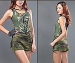 點一下即可放大預覽 -- 叢林迷彩~ 酋長魔蠍 女款戰術褲裙 S號