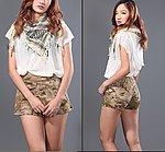 點一下即可放大預覽 -- 沙漠迷彩~ 酋長魔蠍 女款戰術褲裙 S號