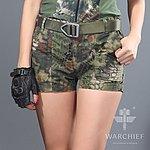 點一下即可放大預覽 -- 叢林蟒蛇迷彩~ 酋長響尾蛇 女款短褲 M號