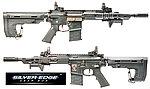 點一下即可放大預覽 -- APS ASR111 RS1 守護者戰術版 全金屬電動步槍