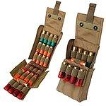 大容量! 24發 MOLLE 模組化散彈彈殼袋【狼棕色】,彈套,彈袋