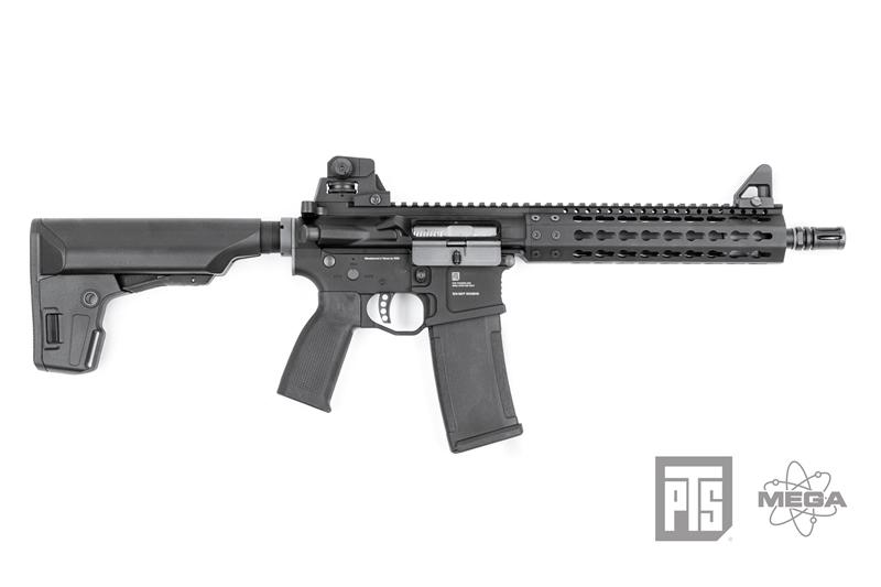 KWA/KSC PTS Mega Arms MKM AR15 CQB GBBR 全金屬瓦斯氣動槍,步槍