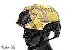 點一下即可放大預覽 -- 美軍海豹部隊FAST頭盔【CP迷彩】專用盔布,多地迷彩 戰術頭盔盔罩