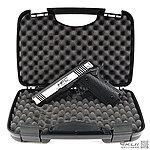 點一下即可放大預覽 -- [瓦斯、CO2雙動力 雙彈匣]~ HFC M1911 4.3吋 戰術版 全金屬手槍(附精美槍箱)