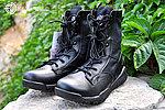 點一下即可放大預覽 -- 黑色~【42號】輕量化高筒戰術靴,戰鬥靴,戰鬥鞋,軍靴,登山靴,軍鞋