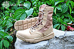 點一下即可放大預覽 -- 沙色~【42號】輕量化高筒戰術靴,戰鬥靴,戰鬥鞋,軍靴,登山靴,軍鞋