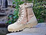 點一下即可放大預覽 -- 沙色~【44號】特警高筒戰術靴,戰鬥靴,戰鬥鞋,軍靴,登山靴,軍鞋