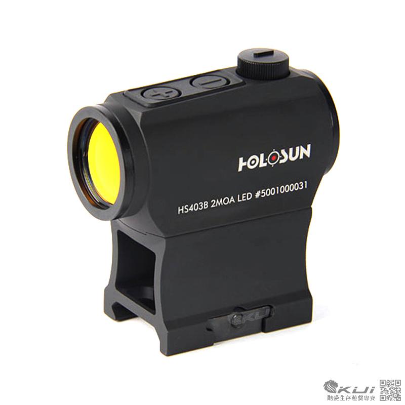 真品 保固5年~HOLOSUN HS403B T1 內紅點瞄具