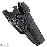 點一下即可放大預覽 -- 黑色~LV3 SERPA M9 CQC 硬殼腰掛槍套,快拔槍套(兩段式開關)
