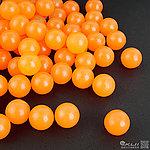 點一下即可放大預覽 -- MILSIG 17mm 橘色橡膠球(約100顆)