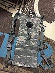 真品 美國軍品~二手 軍用水囊背袋 ACU (美軍公發),水袋
