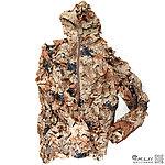 點一下即可放大預覽 -- 沙漠迷彩 銷葉狀 吉利服套裝(連帽上衣+褲子),打獵服,偽裝服,偽裝網,狩獵服,賞鳥,拍戲,道具,狙擊手,迷彩服