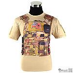 點一下即可放大預覽 -- L號~戰術背心 軍迷潮流 短T-shirt,休閒短袖上衣,T恤