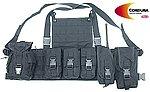點一下即可放大預覽 -- 輕量化 黑色~警星 軍警戰術裝備 M.O.D. 戰術裝備背心(不含彈袋,需另購)
