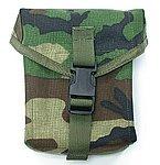 點一下即可放大預覽 -- NG品 叢林迷彩~警星 M249 彈袋,彈匣袋,彈夾袋,收納袋