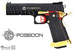 點一下即可放大預覽 -- AW HI-CAPA 6吋 黑龍 海神性能版客製槍(射程直逼60米),瓦斯手槍,Poseidon