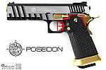 點一下即可放大預覽 -- AW HI-CAPA 6吋 銀龍 海神性能版客製槍(射程直逼60米),瓦斯手槍,Poseidon