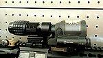 限量特價!!!~AIM TECH 軍規等級抗震 SRS 內紅點 快瞄~加1元送三倍鏡!!!
