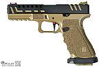 點一下即可放大預覽 -- APS 競技版 Desert D-Mod 黑蠍 瓦斯 雙動力手槍,瓦斯槍