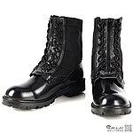 43號 MIT 帆布拉鍊 戰鬥靴,特警鞋,戰術靴,戰鬥鞋,軍靴,登山靴,軍鞋