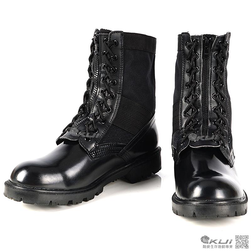 44號 MIT 帆布拉鍊 戰鬥靴,特警鞋,戰術靴,戰鬥鞋,軍靴,登山靴,軍鞋