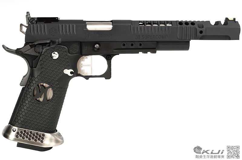 黑色~AW Custom WE HI-CAPA 風之魂 7吋競技版 全金屬瓦斯槍,手槍
