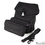 黑色~三單元增量工具包,側背包,攜行袋,手提包,BB槍袋,防護袋,置物袋,收納袋,生存遊戲收納包
