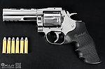 點一下即可放大預覽 -- 4吋~Dan Wesson 715 .357 Magnum【銀色】CO2 全金屬左輪手槍