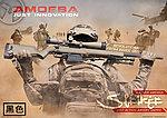 點一下即可放大預覽 -- ARES AMOEBA AS01【黑色】空氣狙擊槍,手拉空氣槍