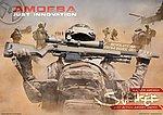 點一下即可放大預覽 -- ARES AMOEBA AS01【沙色】空氣狙擊槍,手拉空氣槍
