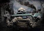 點一下即可放大預覽 -- ARES AMOEBA AS01【軍綠色】空氣狙擊槍,手拉空氣槍
